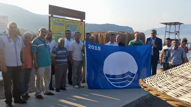 Marmaris Sahillerinde 24 Mavi Bayrak Dalgalanıyor