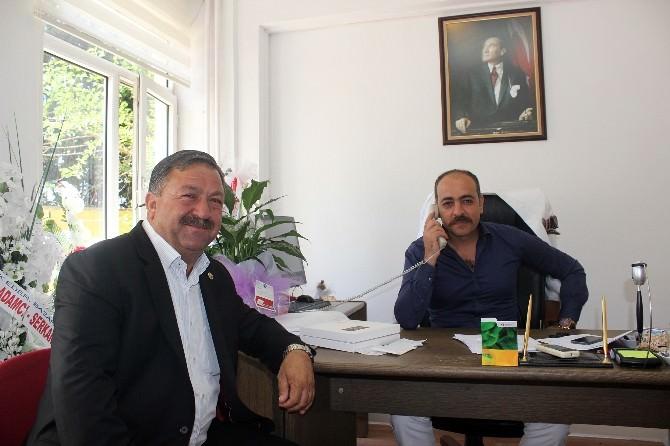 Baştuğ'dan Karakuş'a Ziyaret
