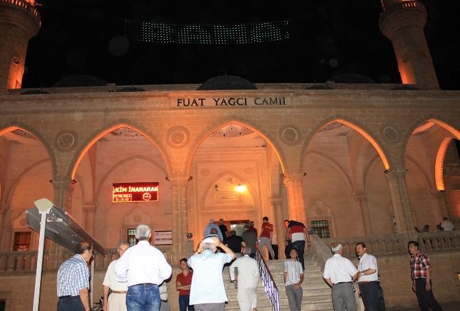 Mardin'de İlk Teravih Namazı Kılındı