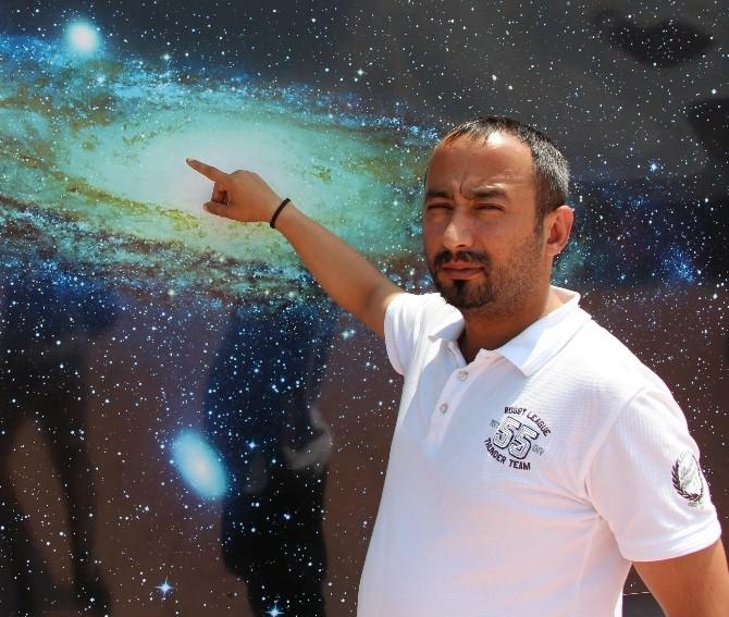 OMÜ Planetaryum'da 6o Bin Kişi Uzayı İzledi