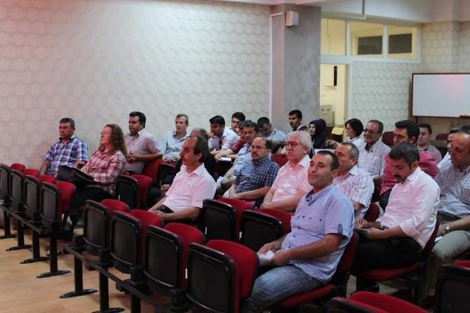 Sungurlu'da Müdürler Kurulu Toplantısı