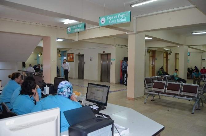 Ramazan Ayının İlk Gününde Hastaneye Muayene İçin Gelenlerin Sayısında Düşüş