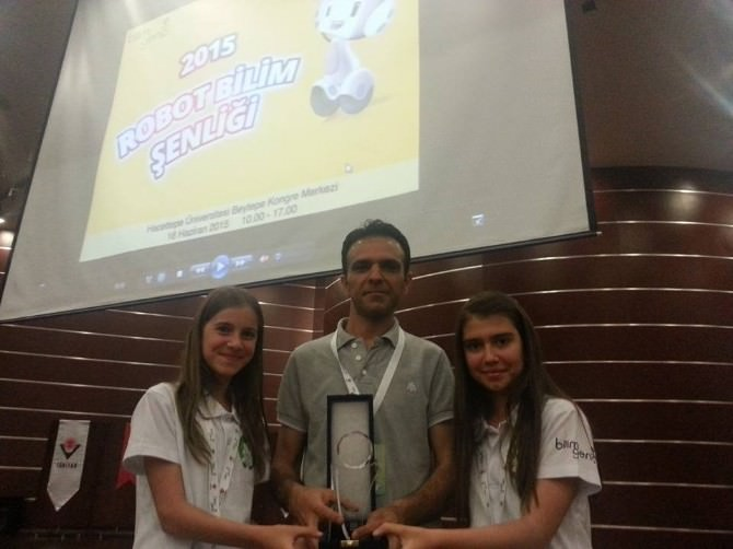 TÜBİTAK Yarışması'nda Türkiye 1.si Niğde'den