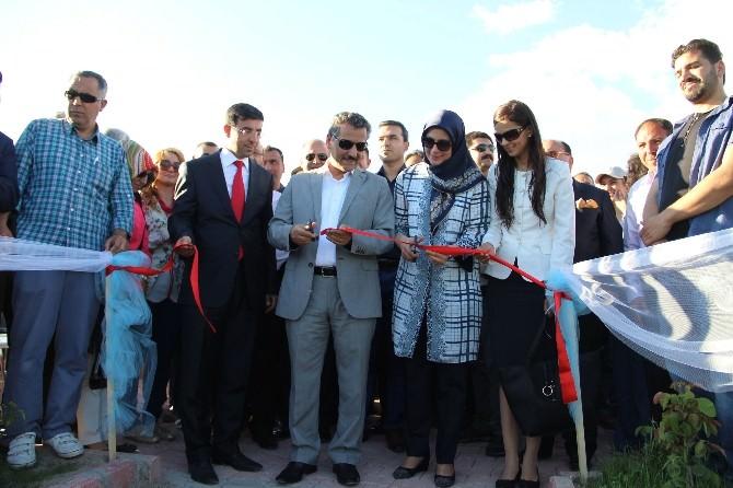 Çemişgezek Sahiline Yapılan Sosyal Tesis Törenle Açıldı