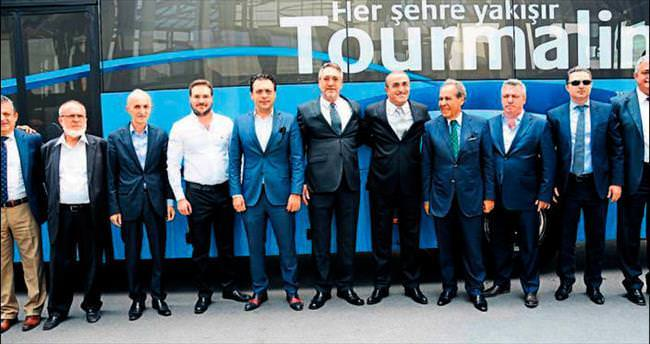 Temsa'nın yeni ürünü Tourmalin