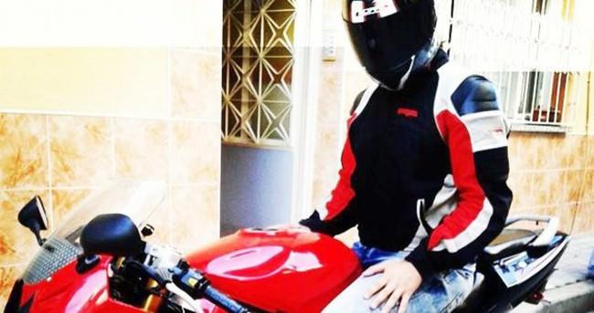 Krediyle aldıgı motosikletle ölüme gitti
