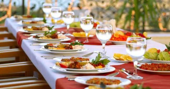 Ramazanda iftar menüsü