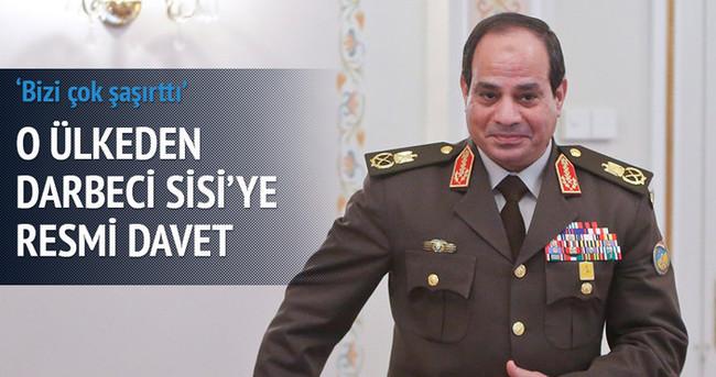 İngiltere Sisi'yi Londra'ya davet etti