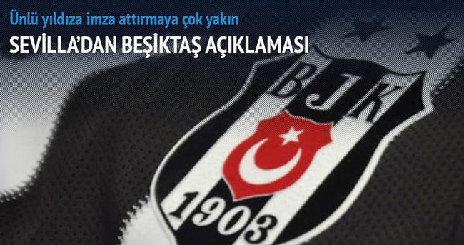 Sevilla'dan Beşiktaş açıklaması