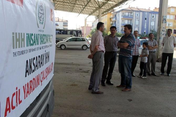 Aksaray'dan Suriye'ye Yardım Tır'ı