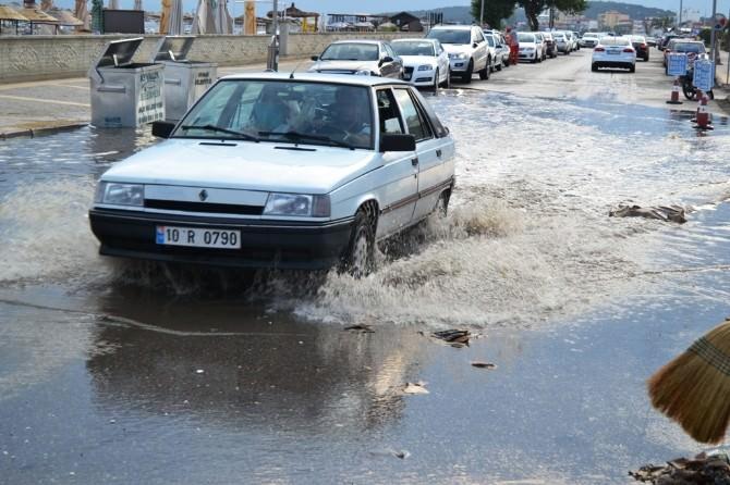Sarımsaklı Sular Altında Kaldı