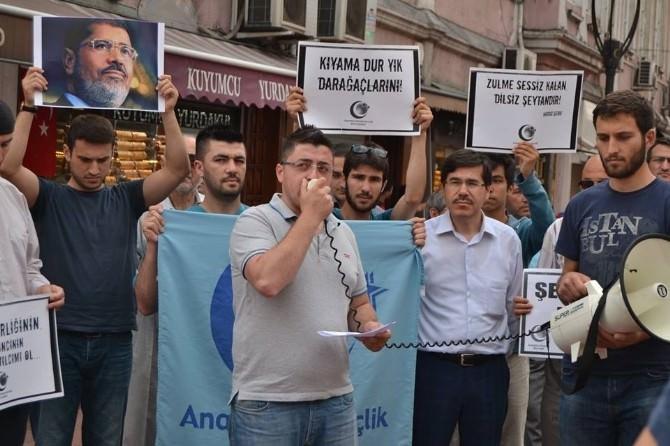 Bartın AGD'den Mursi'ye Destek Eylemi