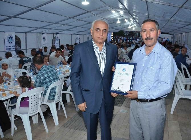 Battalgazi Belediyesi, Bin 500 Kişiye İftar Yemeği Verdi