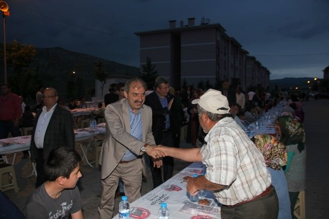 Çankırı'da 1200 Kişi Birlikte İftar Yaptı