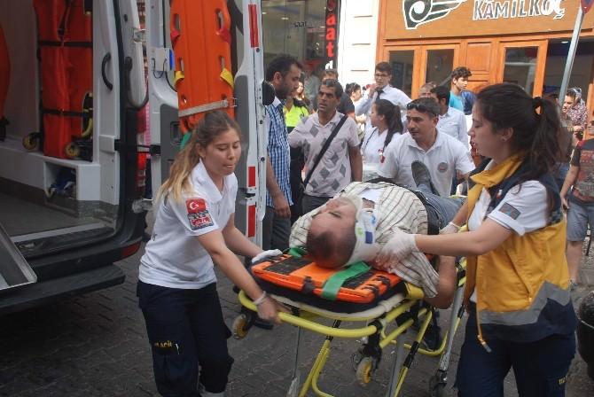 Efeler'de Elektrikli Bisiklet Kazası: 1 Yaralı