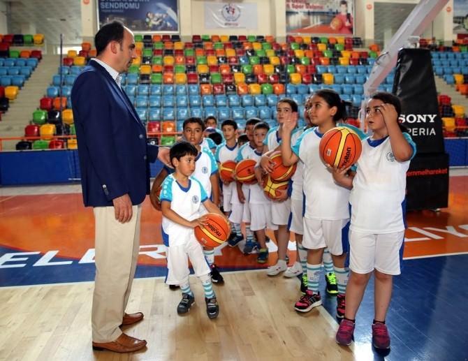 Başka Altay'dan Yaz Spor Okullarına Ziyaret