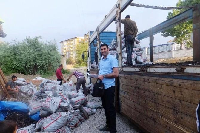 Van'da Muhtaç Ailelere Kömür Yardımının Dağıtımına Başlandı