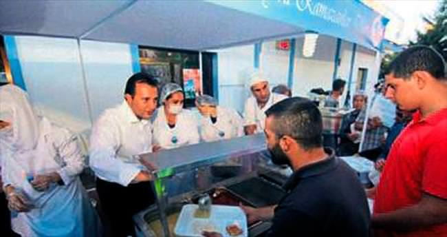 Menderes'te Ramazan coşkusu