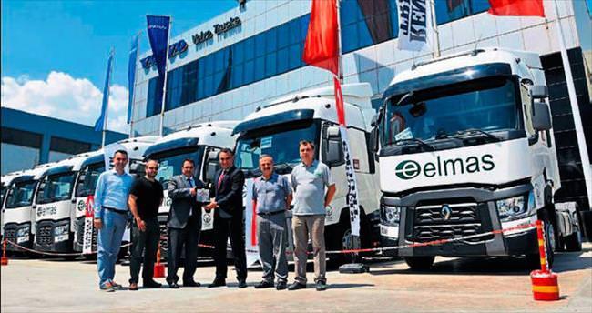 Elmas Lojistik filosuna yeni araçlarla güç kattı