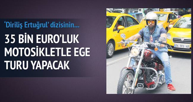 35 bin Euro'luk motosikletle Ege turu yapacak