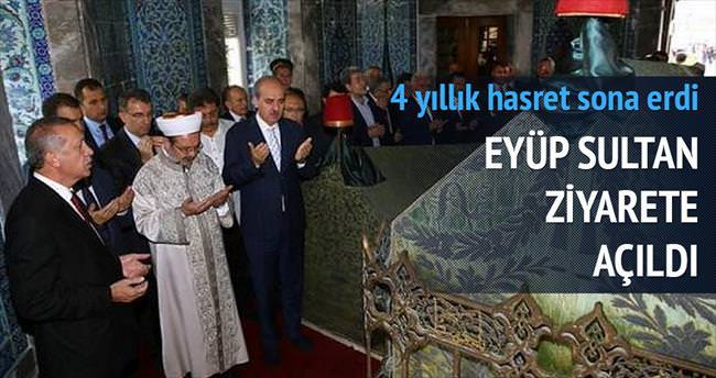 Eyüp Sultan'da 4 yıllık hasret bitti