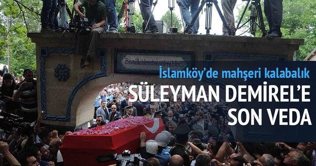 Süleyman Demirel'e veda