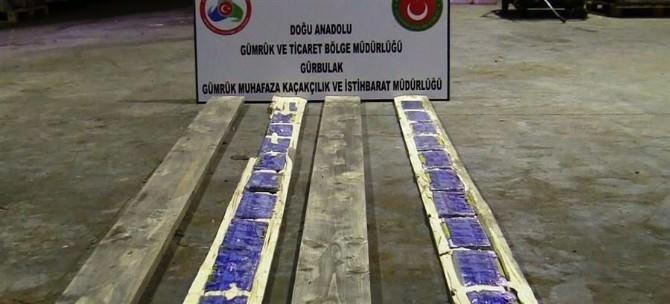 Ağrı'da 163 Kilo Eroin Ele Geçirildi