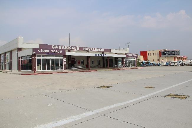 Çanakkale Havalimanı'na Yeni Terminal Binası
