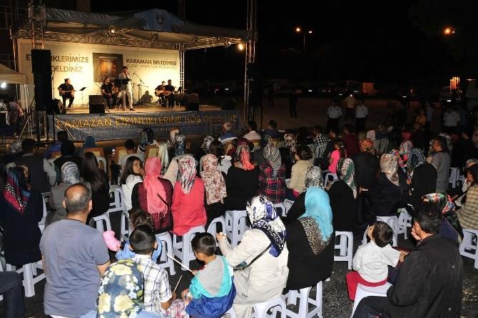 Karaman Belediyesi'nin Ramazan Etkinlikleri Başladı