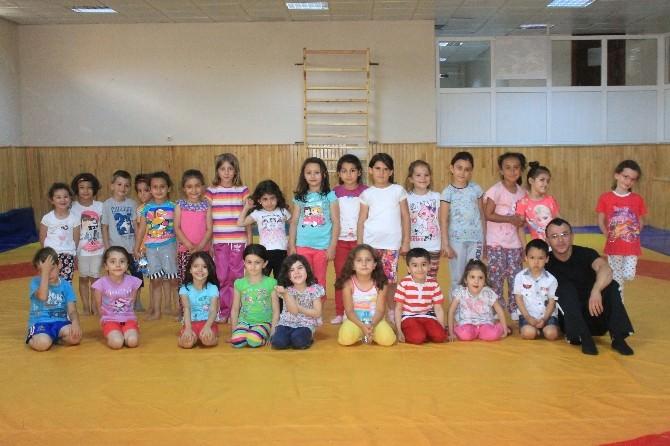 Karaman'da Jimnastik Kurslarına Yoğun İlgi