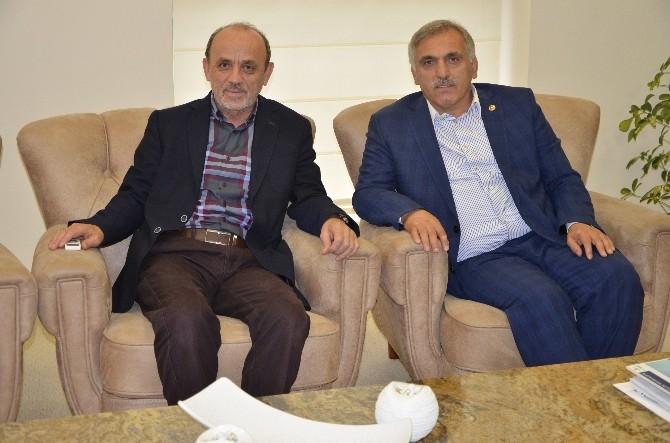 Milletvekili Ali İnci'den Erenler'e Teşekkür Ziyareti