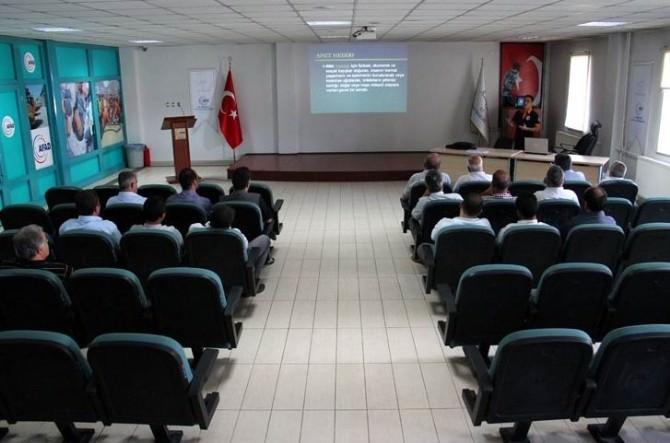 AFAD'tan PTT Personeline Eğitim Verildi