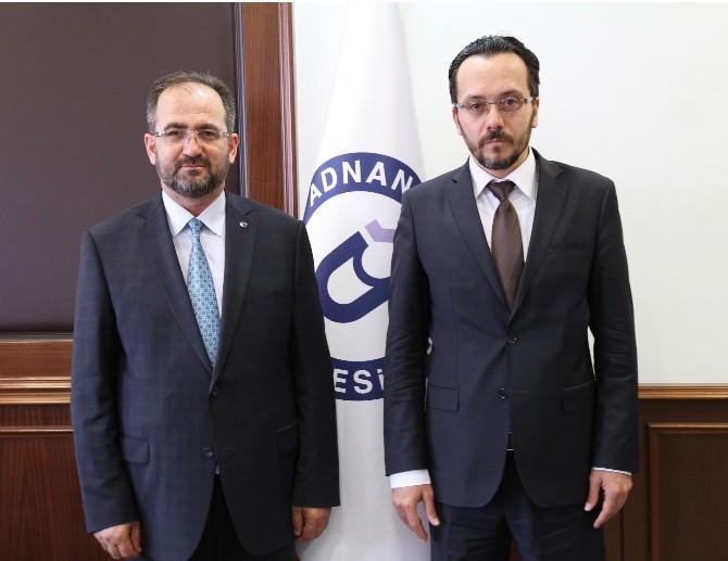 YÖK Yürütme Kurulu Üyesi Hatiboğlu'ndan ADÜ'ye Ziyaret