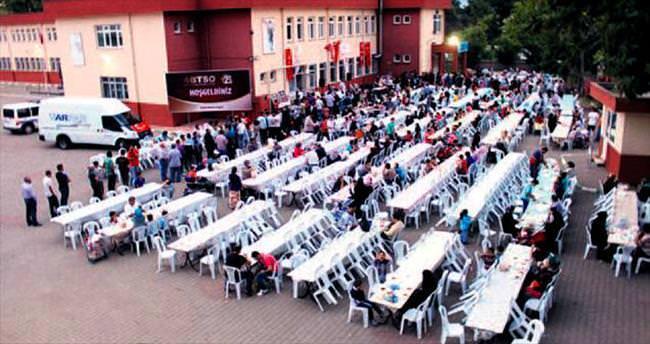 BTSO'dan günde 2 bin kişiye iftar