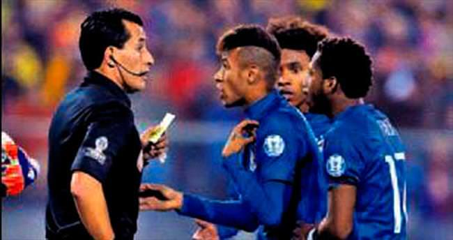 Neymar'a tarihi ceza