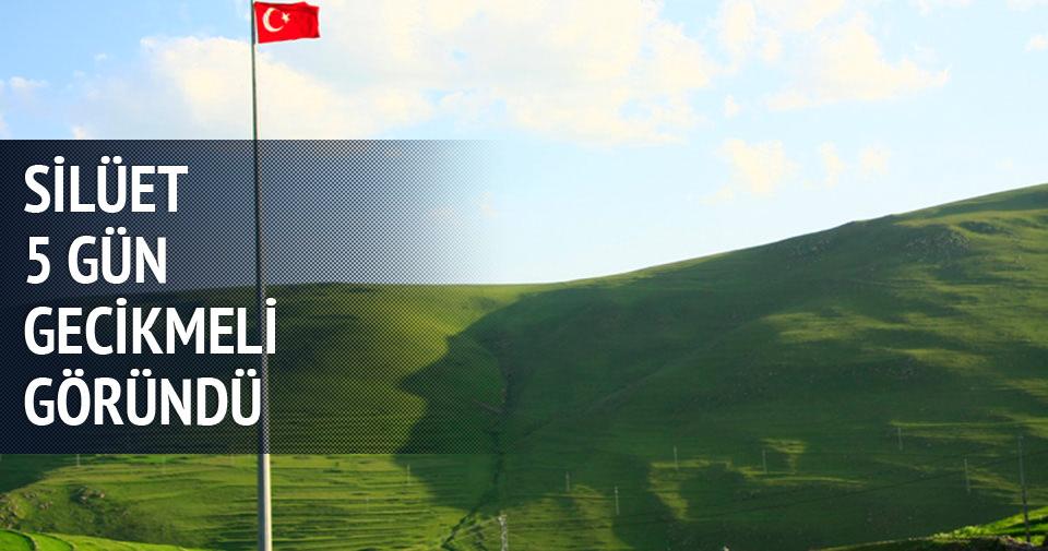 Atatürk silüeti 5 gün gecikmeli göründü