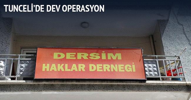 Tunceli'de DHKP-C operasyonu