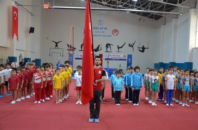 Malatya'da Jimnastik Yarışmaları Başladı