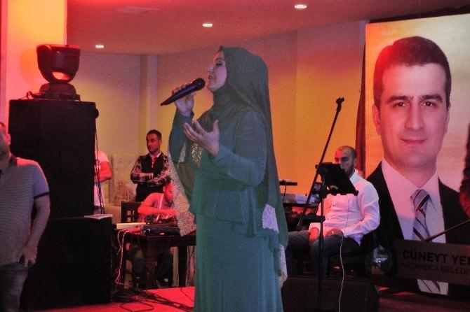 İkbal Gürpınar, Akçakoca'da Ramazan Şenliğine Katıldı