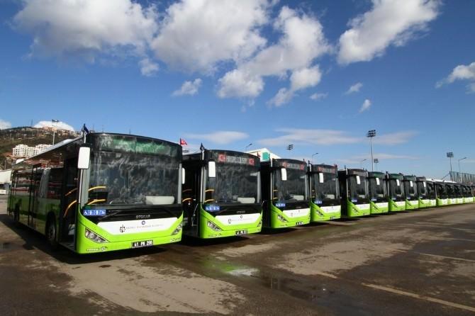 Belediye Otobüsleri Yazlık Çalışma Saatlerine Geçiyor