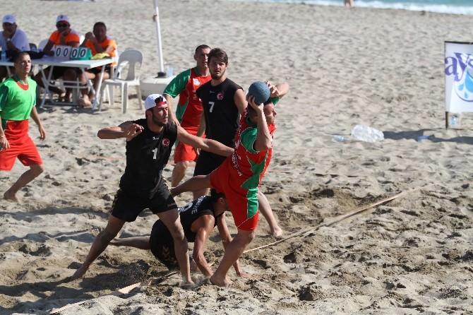 14. Alanya Uluslararası Plaj Hentbolu Turnuvası Sona Erdi