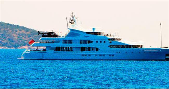 250 milyon dolarlık 'yüzen saray' Bodrum'da