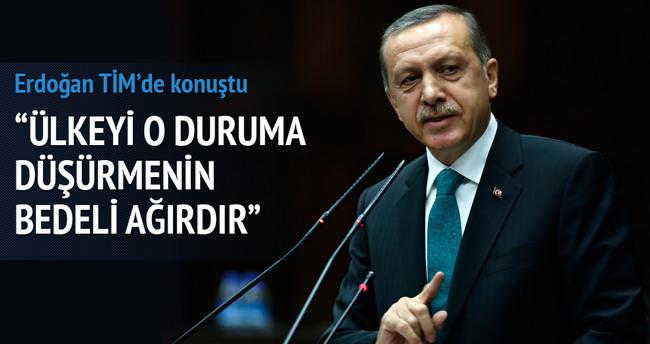 Erdoğan: Hükümet kurulamaz duruma düşürmenin vebali ağırdır