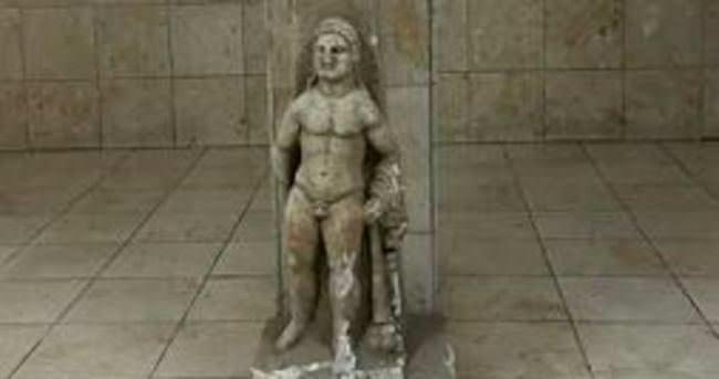 Roma dönemi heykel marangozda ele geçirildi