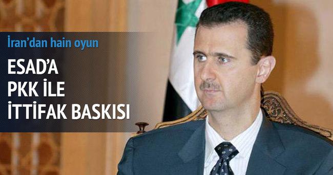 İran'dan Esad'a PKK ile ittifak baskısı