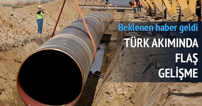 Türk Akımı'nda flaş gelişme! Gazprom açıklama yaptı!