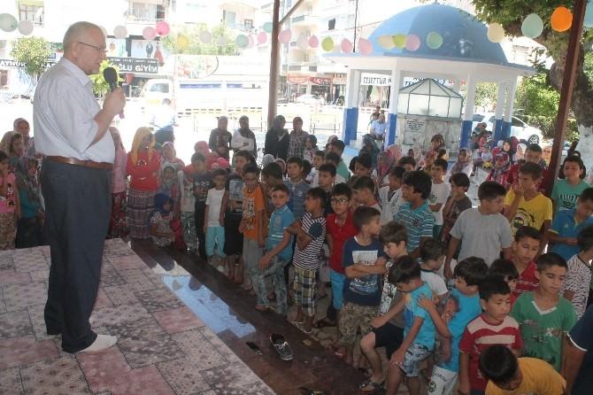 Kumluca'da Çocuklar Yaz Kurslarına Başladı