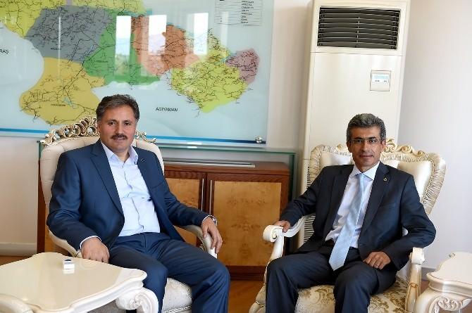 Başsavcı Alper'den, Başkan Çakır'a Veda Ziyareti