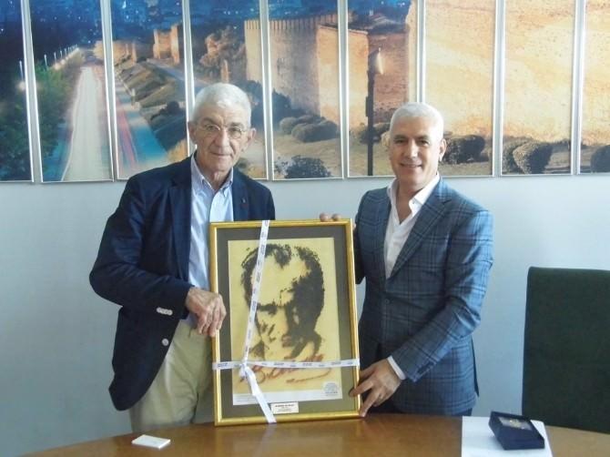 Bozbey'den Selanik Ve Veria Belediye Başkanlarına Ziyaret