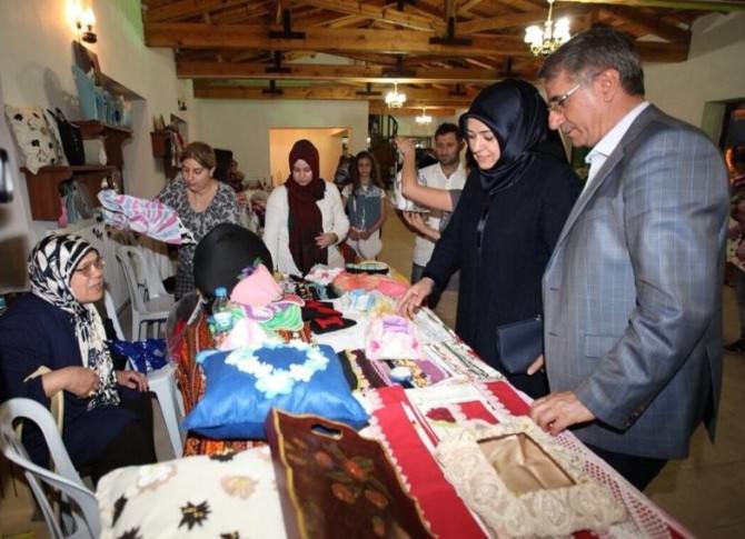 Harput'ta El Emeği, Göz Nuru Çarşısı Açıldı